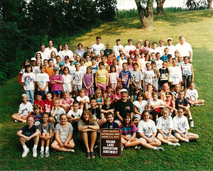 First Chance 4, August 3-6, 1994 Jeff Bullock Dean