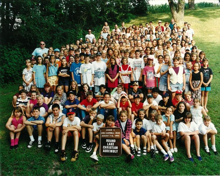 Junior 5, August 7-13, 1994 John Campbell Dean