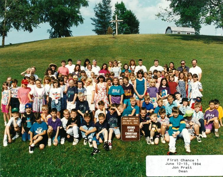 First Chance 1,  June 12-15, 1994 Jon Pratt Dean