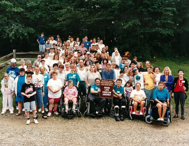 Handicap Camp, July 27-30, 1994 Don Linn Dean