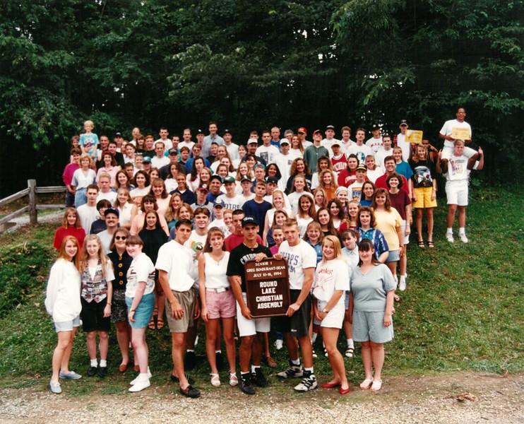 Senior 1, July 10-16, 1994 Greg Bondurant Dean