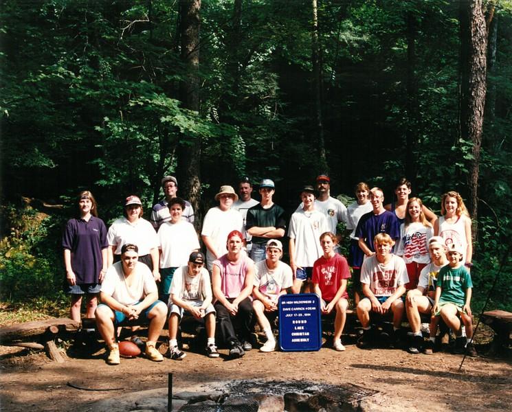 Sr Hi  Wilderness 2, July 17-23, 1994 David Carrick Dean