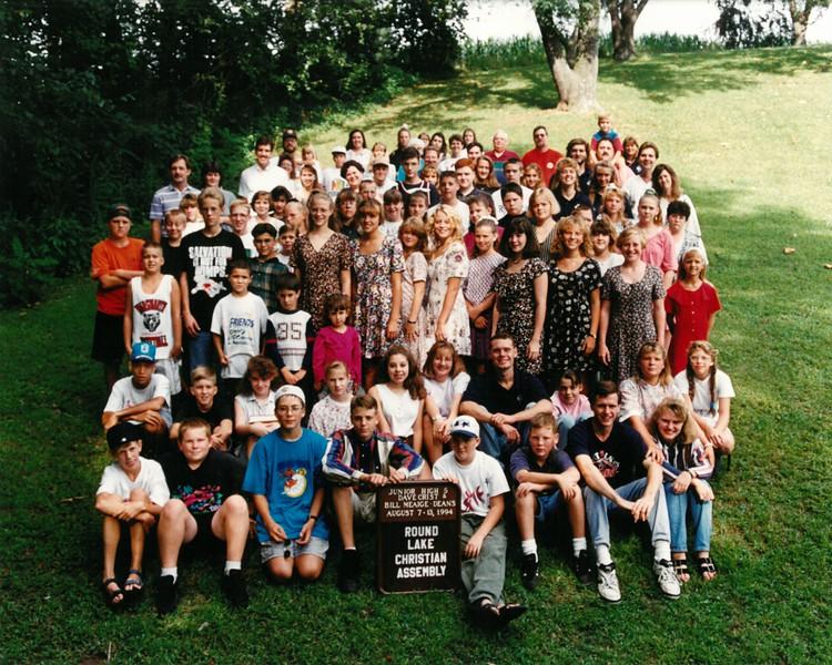 Jr  Hi  5, August 14-20, 1994 Dave Crist-Bill Meiage Deans