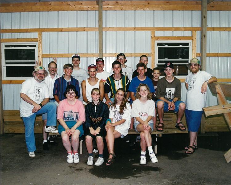 Canadian Canoe Trip, July 9-16, 1994 Bill Fierbaugh Dean