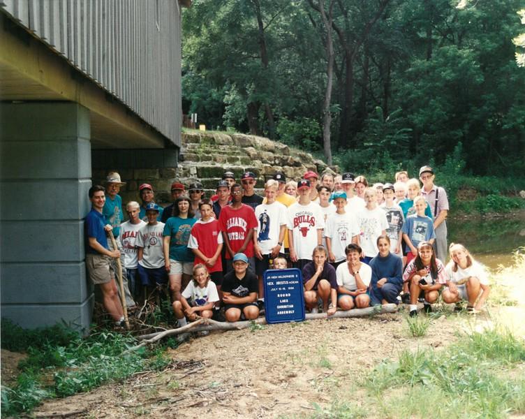 Jr Hi  Wilderness 3, July 10-16, 1994 Nick Christus Dean