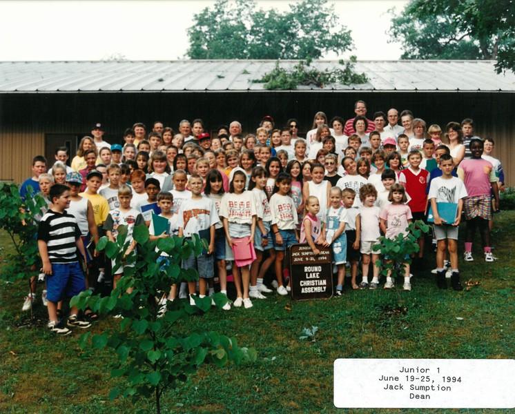 Junior 1, June 19-25, 1994 Jack Sumption Dean