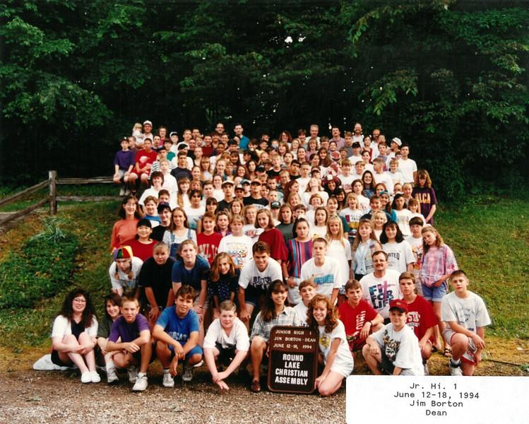 Jr  Hi  1, June 12-18, 1994 Jim Borton Dean