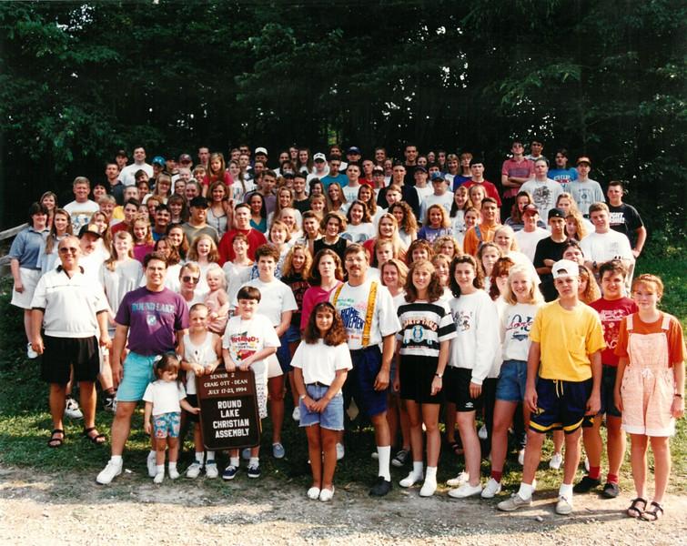 Senior 2, July 17-23, 1994 Craig Ott Dean