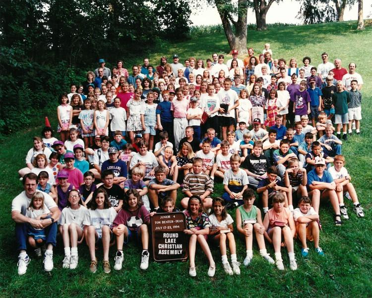 Junior 4, July 17-23, 1994 Tom Benter Dean