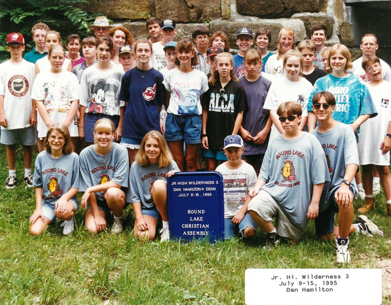 Junior High Wilderness 3, July 9-15, 1995 Dan Hamilton, Dean