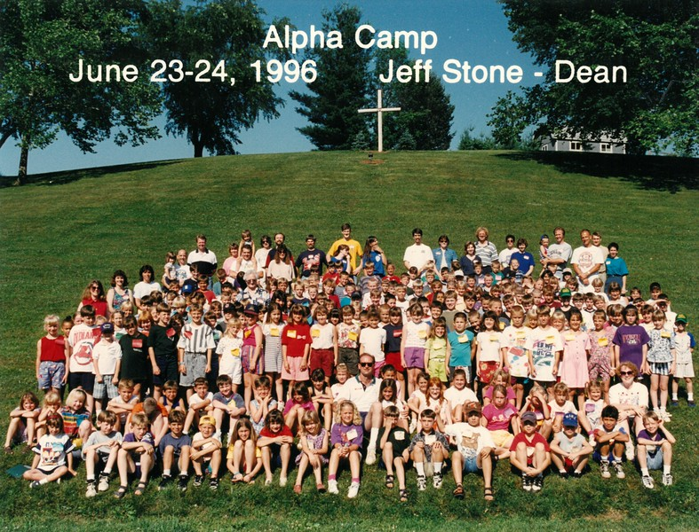 Alpha Camp, June 23-24, 1996 Jeff Stone, Dean