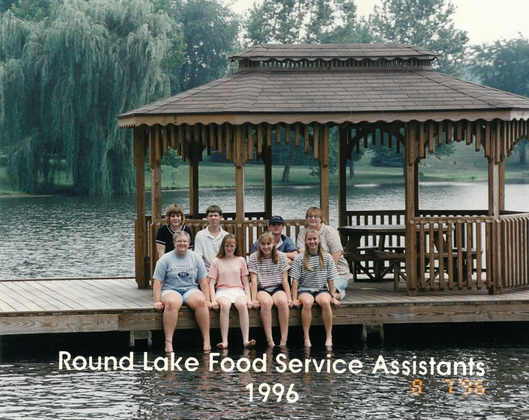 Summer Food Service Assistants, 1996