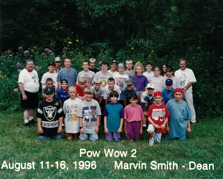 Pow Wow 2, August 11-16, 1996 Marvin Smith, Dean