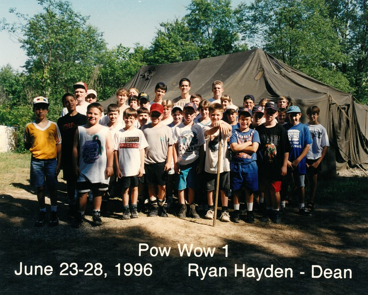 Pow Wow 1, June 23-28, 1996 Ryan Hayden, Dean