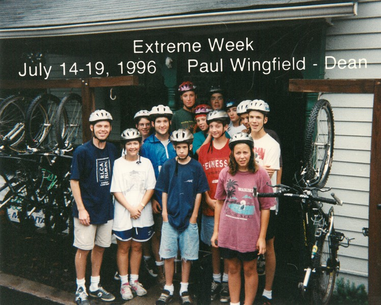 Extreme Week, July 14-19, 1996 Paul Wingfield, Dean
