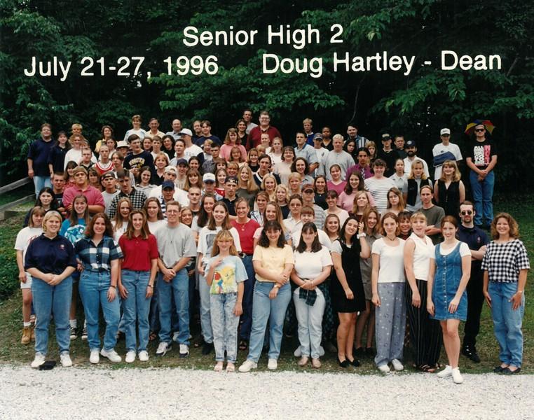 Senior High 2, July 21-27, 1996 Doug Hartley, Dean