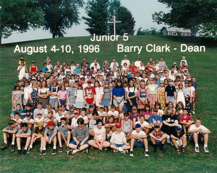 Junior 5, August 4-10, 1996 Barry Clark, Dean