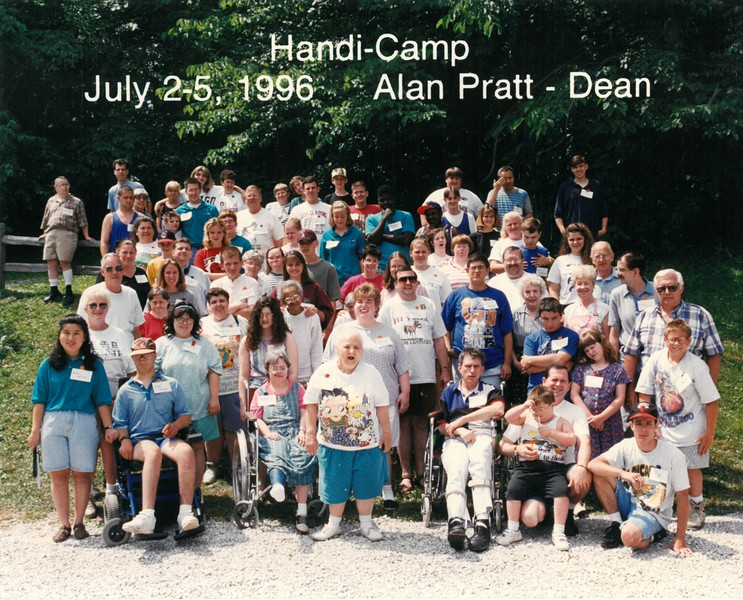 Handi-Camp, July 2-5, 1996 Alan Pratt, Dean
