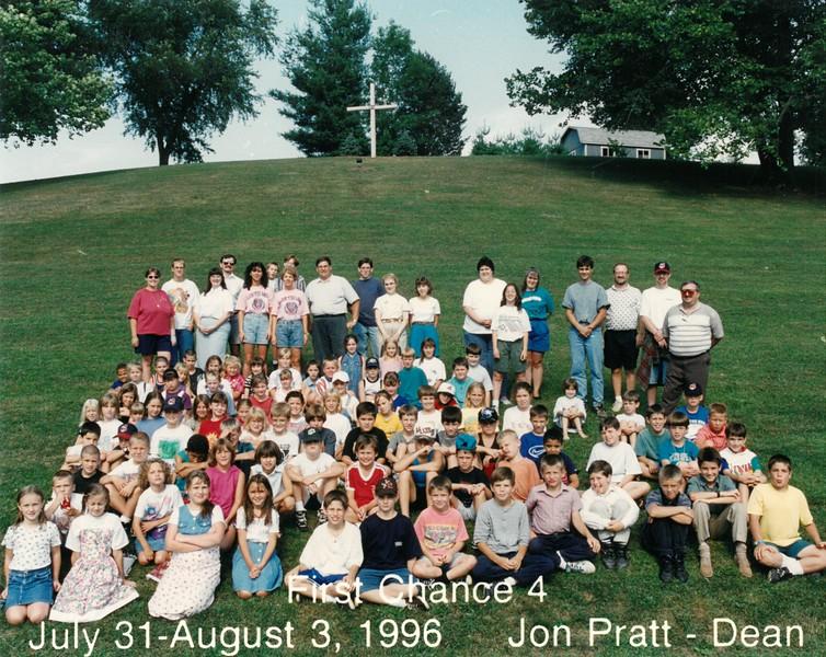 First Chance 4, July 31-August 3, 1996 Jon Pratt, Dean