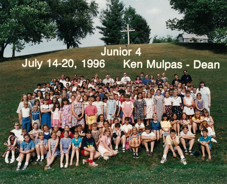 Junior 4, July 14-20, 1996 Ken Mulpas, Dean