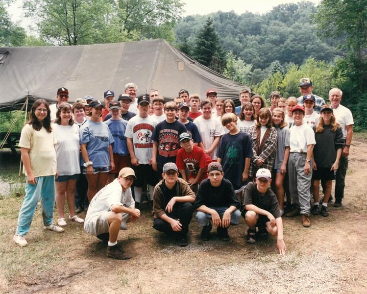 Junior High Wilderness 1, June 9-15, 1996 Fred Albrecht, Dean