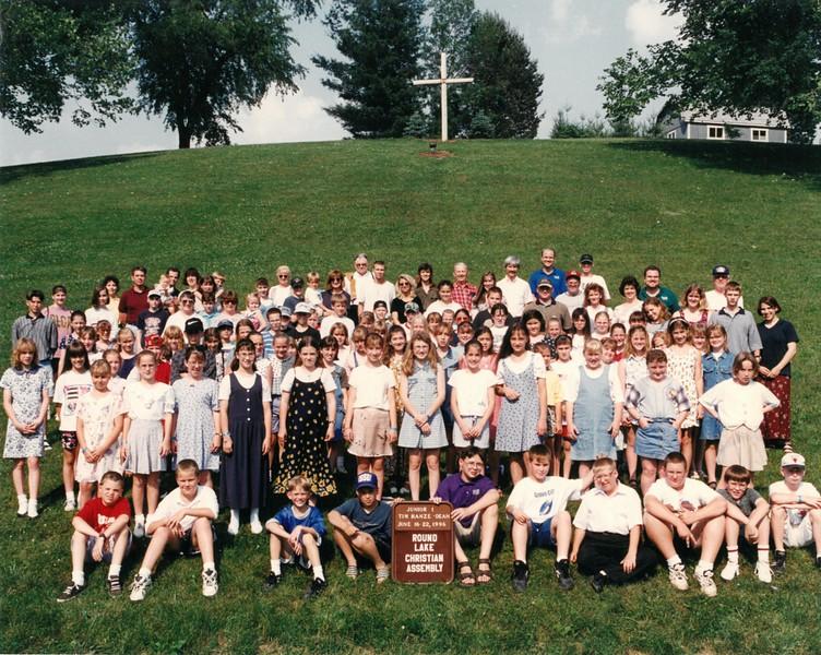 Junior 1, June 16-22, 1996 Tim Hanze, Dean