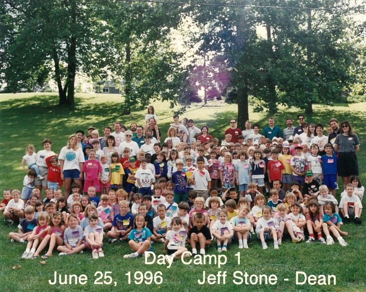 Day Camp 1, June 25, 1996 Jeff Stone, Dean