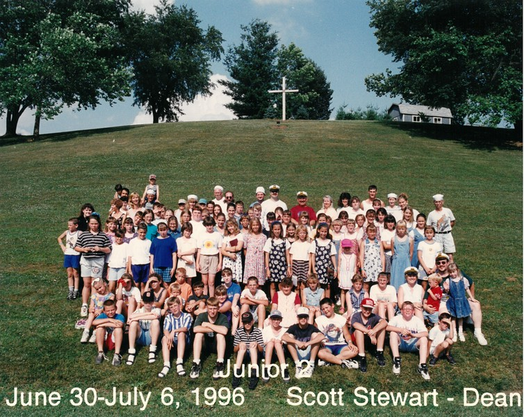 Junior 2, June 30-July 6, 1996 Scott Stewart, Dean