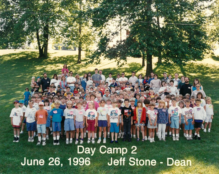 Day Camp 2, June 26, 1996 Jeff Stone, Dean