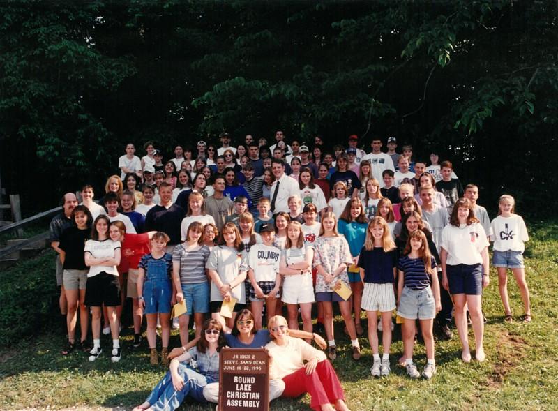 Junior High 2, June 16-22, 1996 Steven Sams, Dean-2