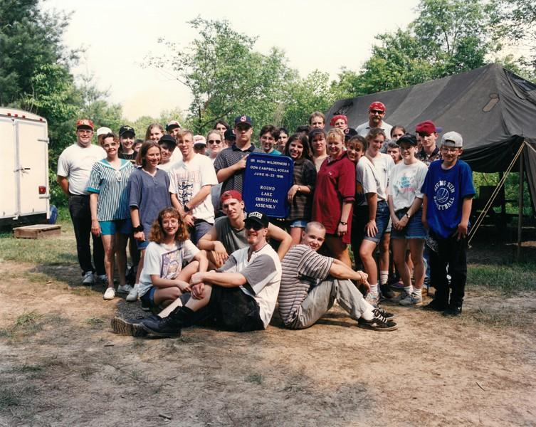 Senior High Wilderness 1, June 16-22, 1996 Don Campbell, Dean