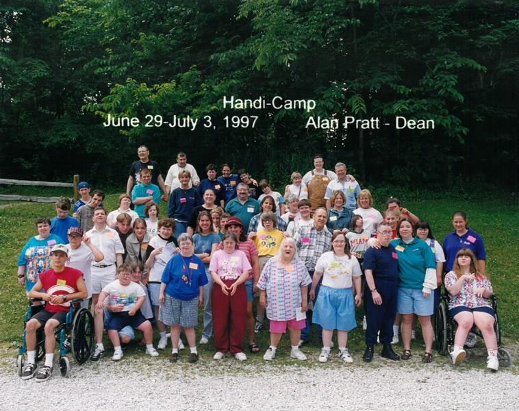 Handi-Camp, June 29-July 3, 1997 Alan Pratt, Dean