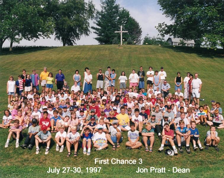 First Chance 3, July 27-30, 1997 Jon Pratt, Dean