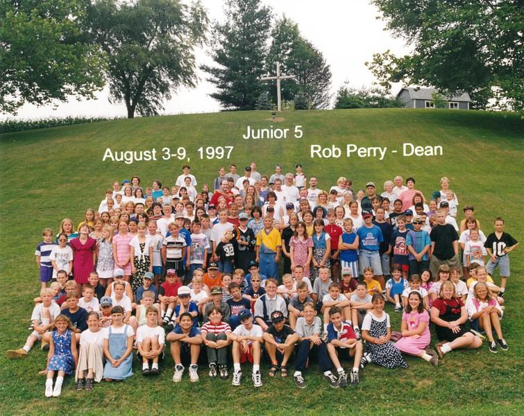 Junior 5, August 3-9, 1997 Rob Perry, Dean