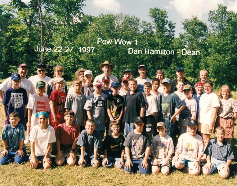 Pow Wow 1, June 22-27, 1997 Dan Hanilton, Dean