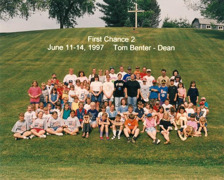 First Chance 2, June 11-14, 1997 Tom Benter, Dean