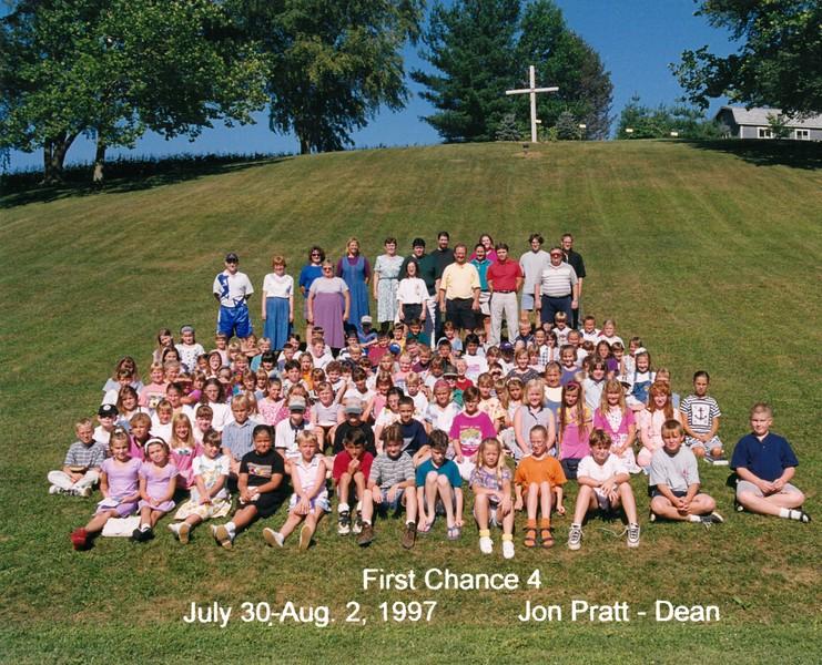 First Chance 4, July 30-Aug 2, 1997, Jon Pratt, Dean