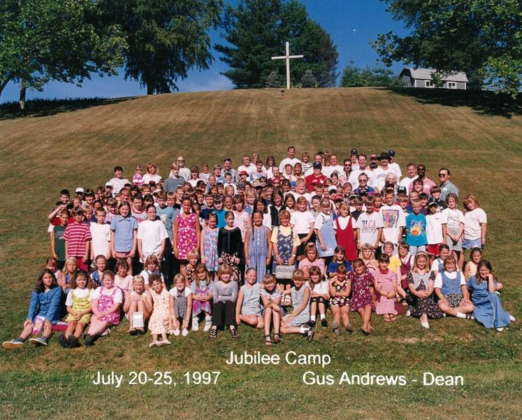 Jubilee Camp, July 20-25, 1997 Gus Andrews, Dean