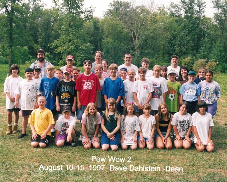 Pow Wow 2, August 10-15, 1997 Dave Dahlstein, Dean