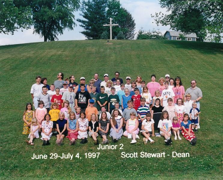 Junior 2, June 29-July 4, 1997 Scott Stewart, Dean