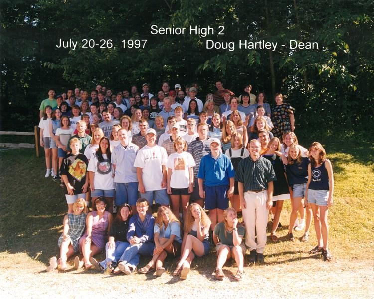 Senior High 2, July 20-26, 1997 Doug Hartley, Dean