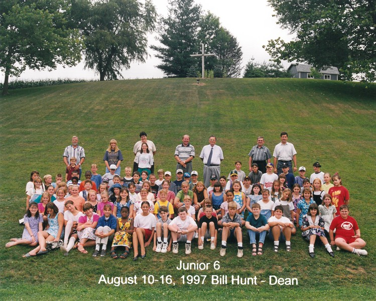 Junior 6, August 10-16, 1997 Bill Hunt, Dean