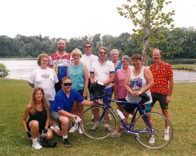 3rd Annual Bike Tour, July 13-18, 1997 Gary Thomas, Dean