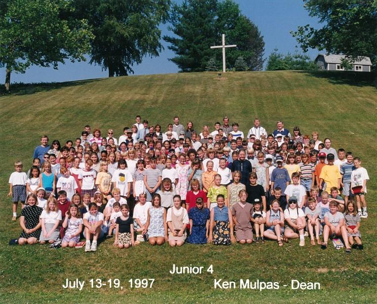 Junior 4, July 13-19, 1997 Ken Mulpas, Dean