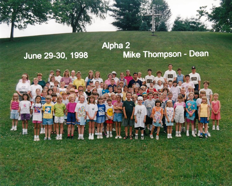 Alpha 2, June 29-30, 1998 Mike Thompson, Dean