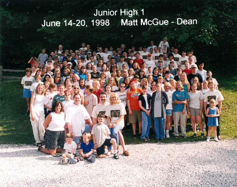 Junior High 1, June 14-20, 1998 Matt McGue, Dean