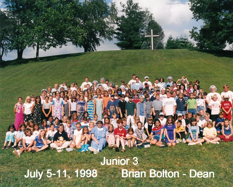 Junior 3, July 5-11, 1998 Brian Bolton, Dean