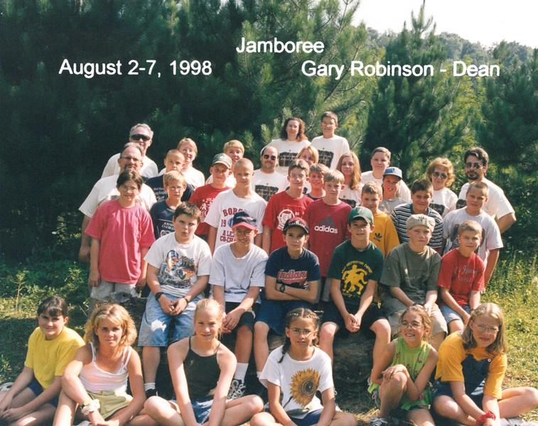 Jamboree, August 2-7, 1998 Gary Robinson, Dean