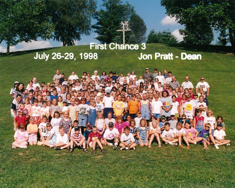 First Chance 3, July 26-29, 1998 Jon Pratt, Dean