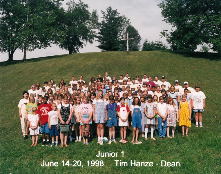 Junior 1, June 14-20, 1998 Tim Hanze, Dean